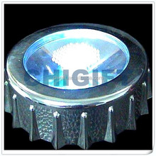 Wholesale Market Bottle Cap Shaped LED Coaster