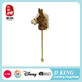 ICTI , Sedex , EN71 audit plush wooden hobby horse toy for kids with music