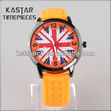 2013 Promotional silicone fashion sport mens watch