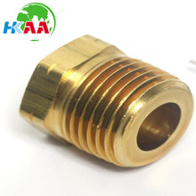 Factory Wholesale Brass Hex inside and outside thread nut