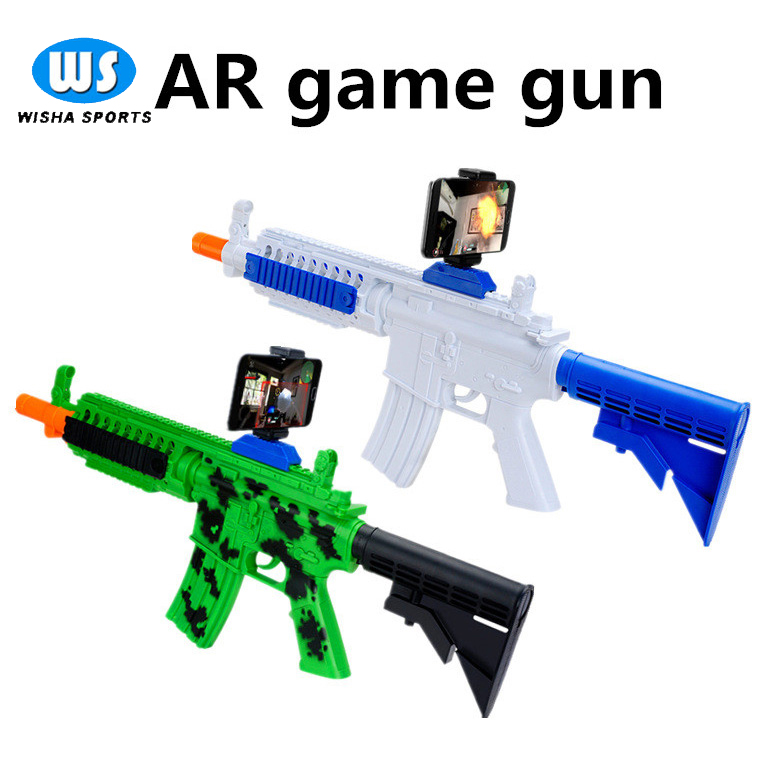 New Product Bluetooth Game AR Gun Augmented Reality Toy Guns For Android and iOS Cell Phone