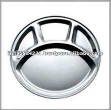 Stainless Steel Partition Dish