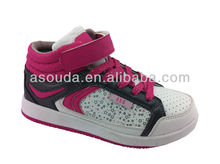 Girls style children skate shoes