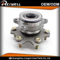 for PAJERO III 3.5 V6 GDI 3780A011 MR418068 make in China alloy Auto wheel hub bearing