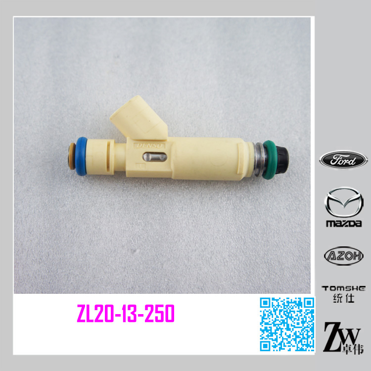 Factory Price Fuel Injector yellow Nozzle ZL20-13-250 for Mazda 3, m2 replacement parts