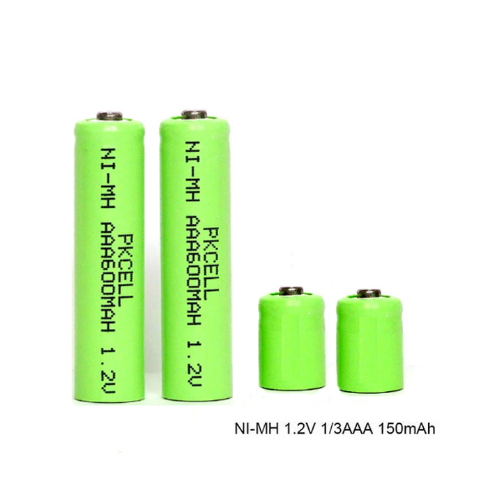cheap price rechargeable ni-mh battery 1/3 aaa 1.2v 300mah ni mh battery