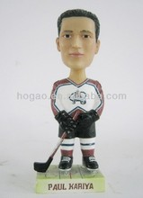 resin Paul kariya hockey winger bobble head