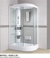 Shower room home portable sauna abs plastic enclosure bathroom remodel ideas