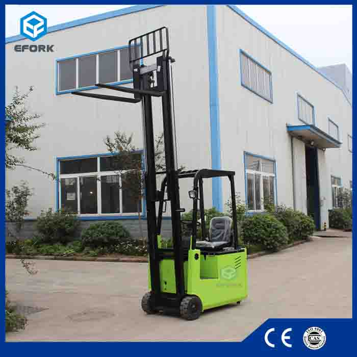 AC motor 1T 1.5T three-wheel electric forklift truck