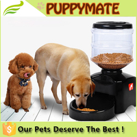 large capacity pet automatic feeder capacity for food and water
