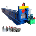 Botou zinc sheet greenhouse rain water gutter roll forming machine