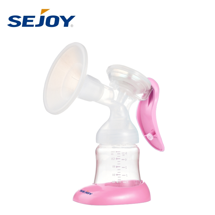 High Quality Manual Mom Fashion Silicone Breast Pump