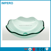 High Performance Cheap price Hand Painted glass wash basin india
