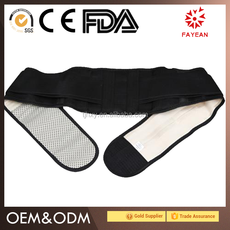 China Factory comfortable breathable waist support jiewo relieve pain lumbar area