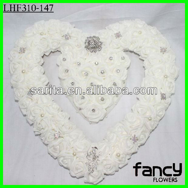 68 heads white event wedding decoration materials with diamond