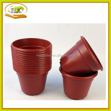 Plastic Flower Pot Trays Rectangular Nursery Plastic Flower Pot Indoor Flower Pots