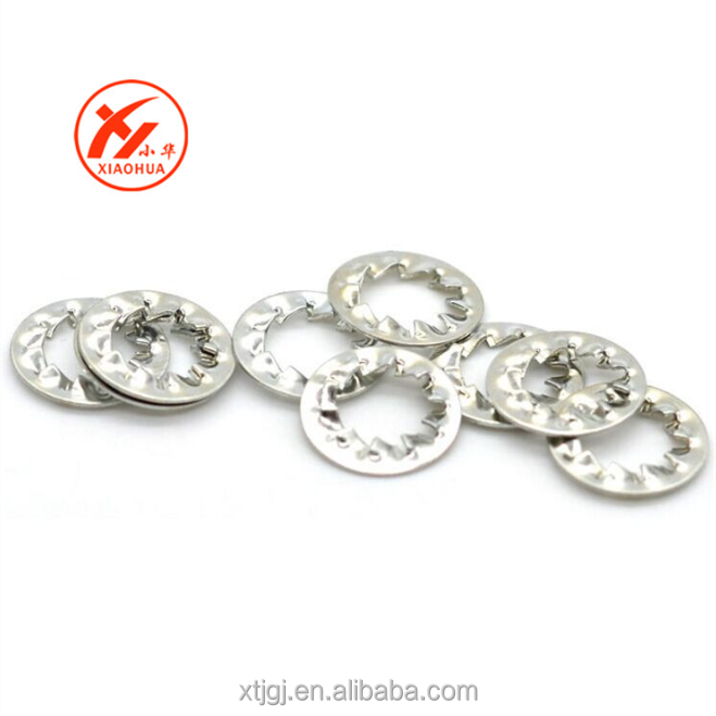 Zinc plated stainless steel washer