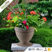 Fashionable Round morden Plastic Garden Pot/garden planter/flower vases