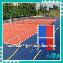 tennis court interlocking sport floor