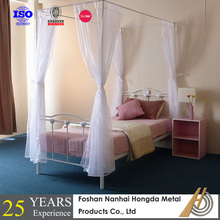 kids heart shaped metal bed for sale with canopy