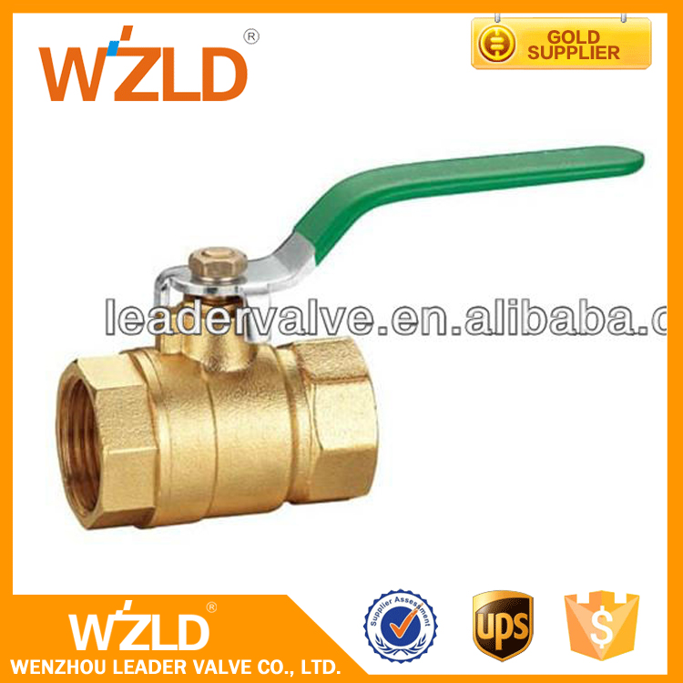 WZLD ASME B16.10 API 6D Standard For Water Air Oil And Gas 3 Inch Mini Brass Ball Valve