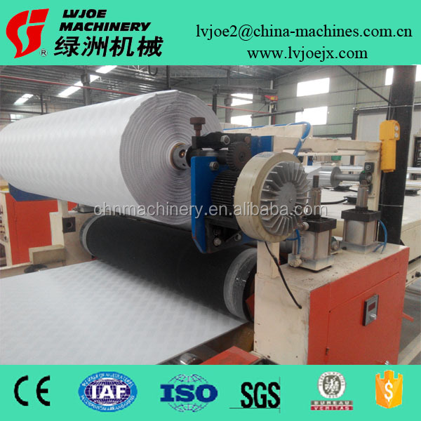 8 Million sqm Capacity PVC Gypsum Board Laminating Cutting Packing Full Line