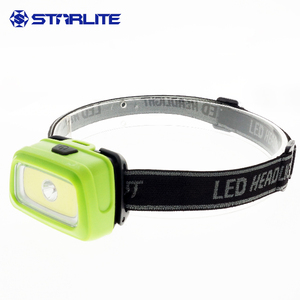 dollar below heavy duty 3 AAA adjustable head strap 3W COB and focusing led red flash IPX4 high power bright light headlamp
