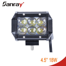 18W 4inch mini LED work light bar for offroad vehicle,Jeep,truck