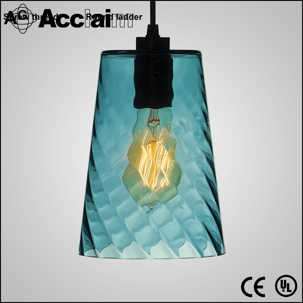 Wholesale Manufacturer Egyptian Style Blue Glass Drop Lamp