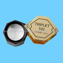 10X 20.5MM Jewelers loupe with optical len