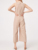 Fashion Nude Jumpsuit For Adult Women