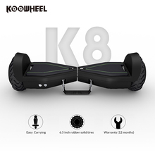 Koowheel k8 black electric scooter for hoverboard off road germany skateboard