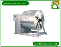 leather machine tannery skin testing equipment drum