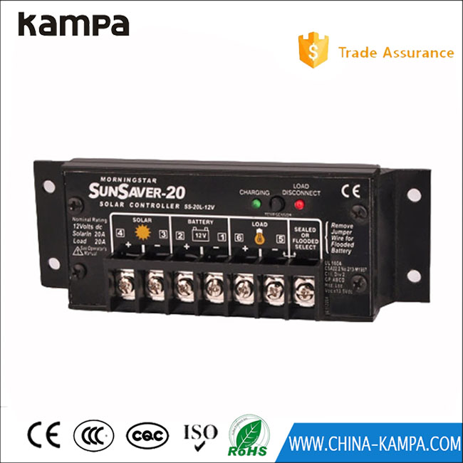 New Design Multifunction adjustment solar charge controller