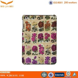 Flower design for ipad mini pc case / for ipad mini touch screen protector
