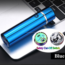 Free Sample Luxury Package USB Rechargeable Electronic Triple ARC LIGHTER Electronic Lighter