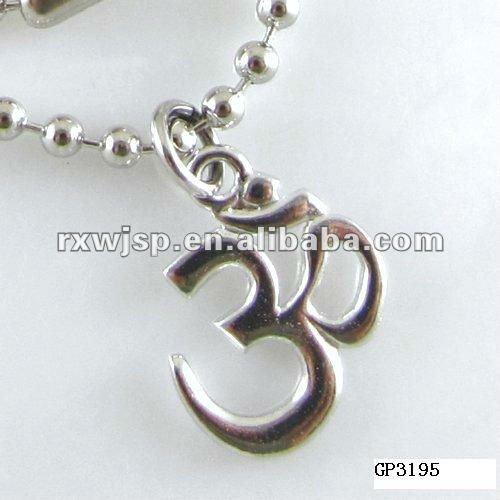 Fashion OM Symbol Pendant Necklace 2015