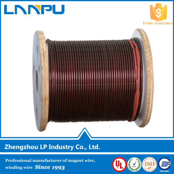 Class 130 155 180 200 220 Insulated Enameled Winding Aluminum Magnet Wire