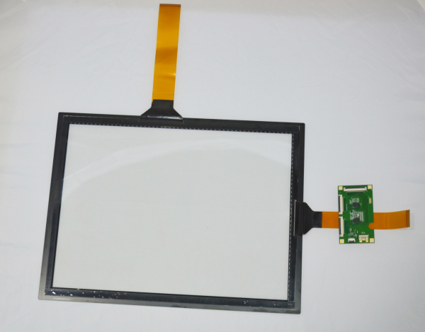 10 Point Waterproof Anti-glare Digital 5.5inch qhd ips lcd capacitive multi touch screen With Linux System