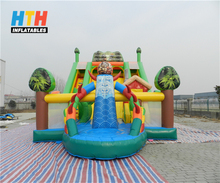 Best quality PVC giant inflatable dry slide