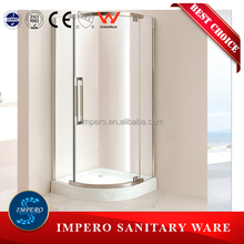 2015 New design circular shower enclosure with arcylic tray