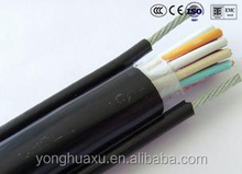 copper core 4 cores indoor and outdoor Plastic insulated control cable/electric wires cables