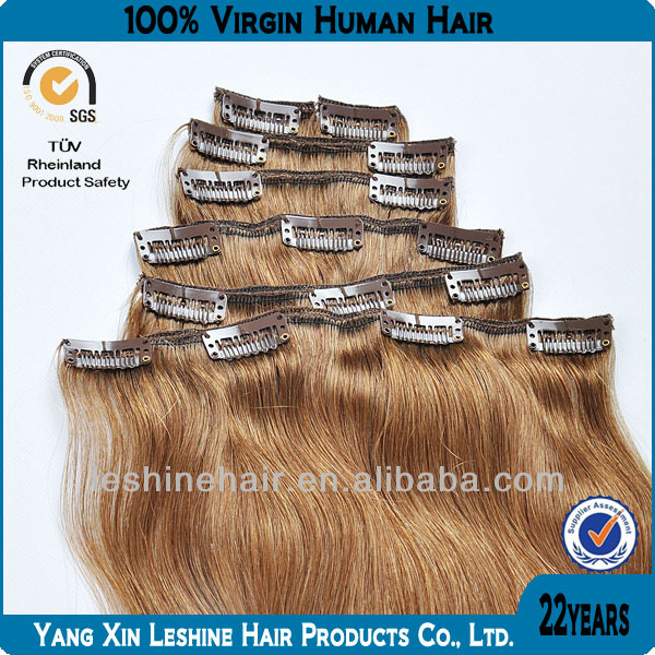 Cheap Factory Price Wholesale 100% Virgin Kinky Hair Clip On Extensions