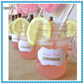 Cold Beverage Glass Mason Jars Drinking Glass For Wedding