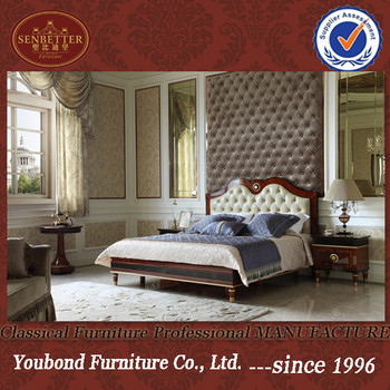 2016 YB latest collection 0068 European classical home and hotel bedroom furniture