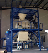 China latest technology machine manufaturers automatic bonding mortar/insulation mortar production line export on alibaba