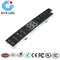 GYX Good Reliability 7 Segment LED