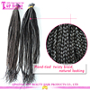 Factory price brazilian remy kinky braiding micro loop hair extension hair