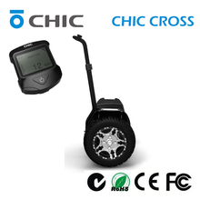balancing CHIC CROSS golf cart four wheel stand up electric scooter