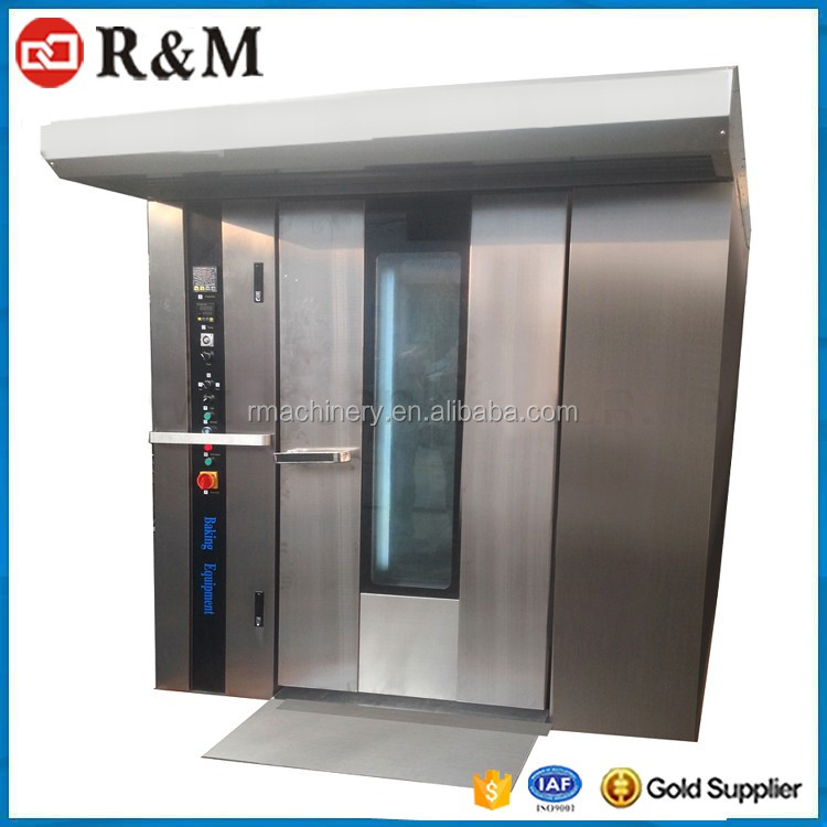 Hot Air Convection Rotary Chamber Industrial Bread Baking Oven for Sale